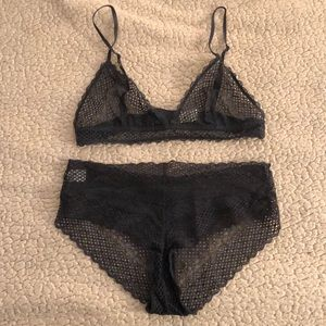 NWOT H&M Conscious Lace Bralette and Panty Set
